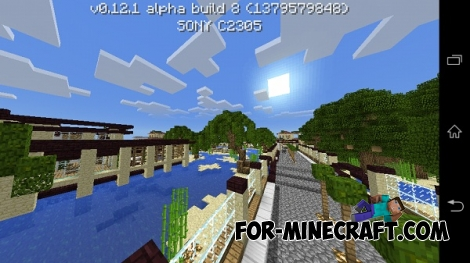 KeralisWorld map for MCPE 0.12.X