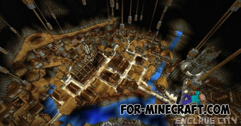 Enclave City map for Minecraft PE 0.12.1