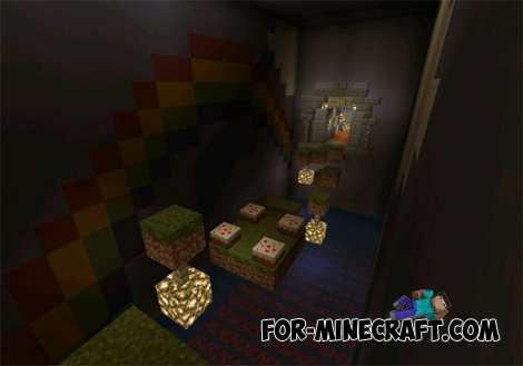 Jump Adventure map for MCPE 0.12.1