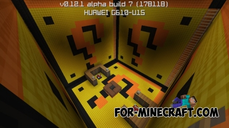 SkyWars Mario map for Minecraft PE 0.12.1