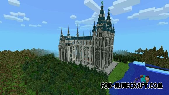 Santa Veronica's Cathedral for Minecraft PE 0 12 0 / 0 12 1