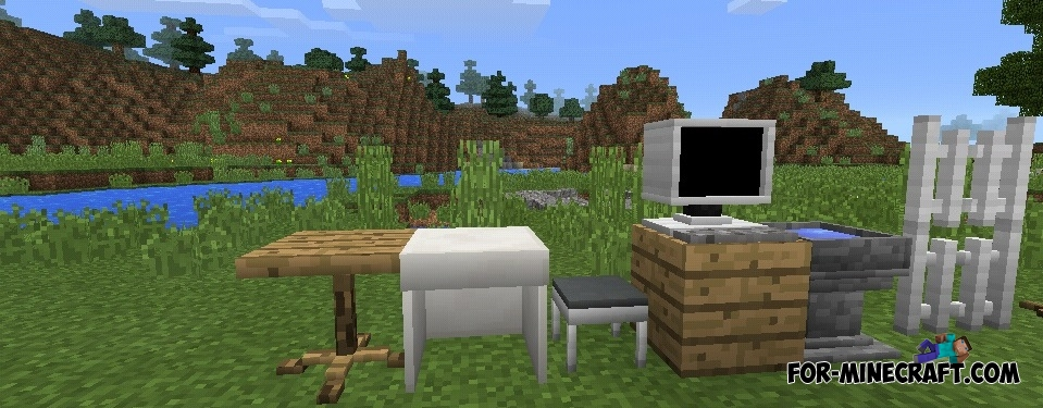 Dan S Furniture Mod For Minecraft Pe 0 12 1 0 14 0 0 14 1