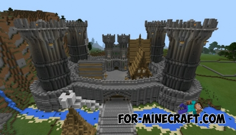 Felmourne map for Minecraft PE 0.12.0
