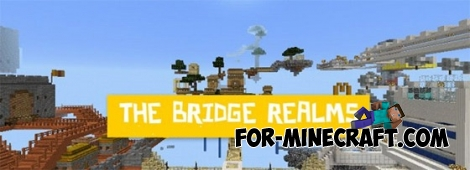 Bridge Realms map for Minecraft PE 0.12.1