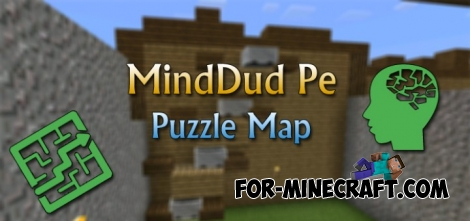 MindDud map for Minecraft PE 0.12.1