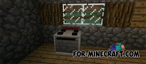 Electrics Furniture mod for Minecraft Pocket Edition 0.12.1