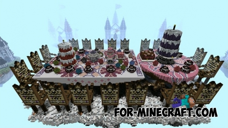 Tea Party map for Minecraft PE 0.12.1