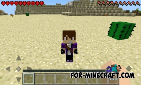 Wife Mod v2.0 for Minecraft PE 0.12.1