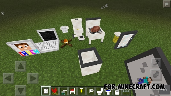 Cauehcraft Furniture Mod For Mcpe 0 12 1 0 12 2 0 12 3