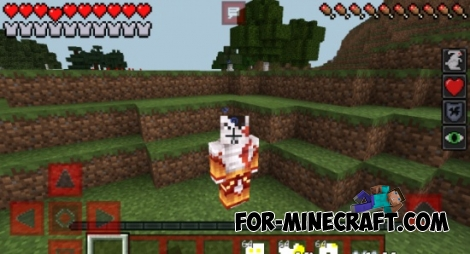 God Of War mod for Minecraft PE 0.12.1