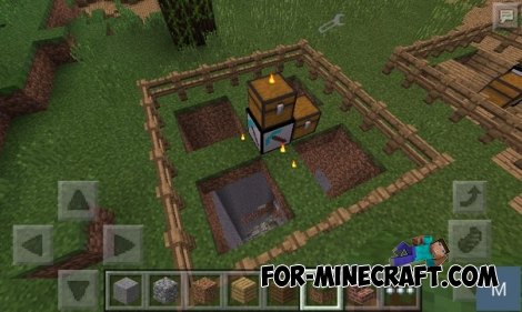 CLIFF 5's diversity survival mod v.0.3 for Minecraft PE 0.12.1/0.12.2