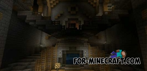 Herobrine Mansion Mod for MCPE 0.12.X