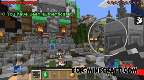 Mini-games server for Minecraft PE 0.12.1/0.12.2