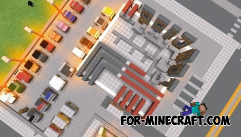 New craft City map for Minecraft PE 0.12.1/0.12.2