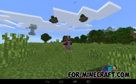 Ant-Man Mod for Minecraft PE 0.12.X