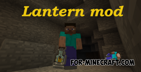 Lantern mod for Minecraft PE 0.12.X