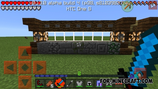 Red Pack PvP texture for MCPE 0 13 0