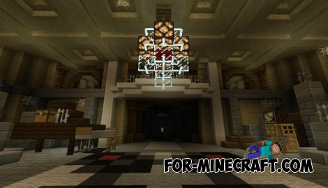 Redstone Mansion map for Minecraft PE 0.13.0