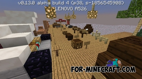 Furniture Ideas map for Minecraft PE 0.13.0