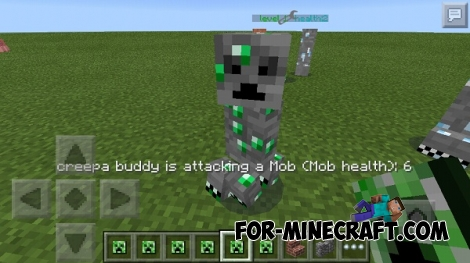 TooManyCreepes mod for Minecraft PE 0.11.X / 0.12.1 / 0.13.0
