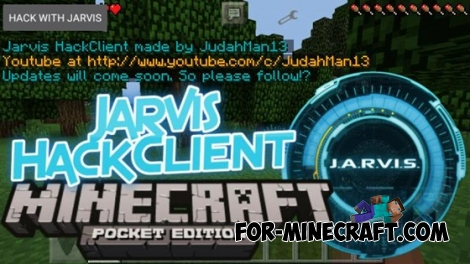 Jarvis hack for Minecraft PE 0.13.0