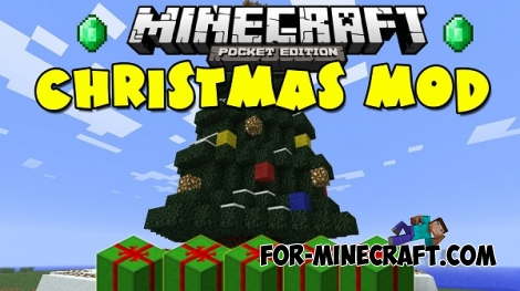 Christmas Gifts mod for MCPE 0.13.0