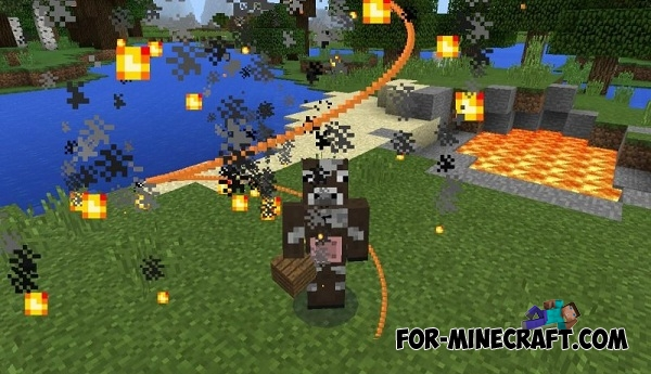 Particles-R mod v2 1 for Minecraft PE 0 13/0 14 0/0 14 1/0 14 2