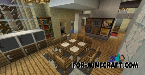 Mrcrayfish's Furniture mod v6 for Minecraft PE 0.11/0.13