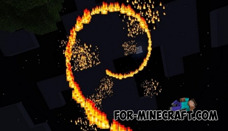 Particles-R mod v2.1 for Minecraft PE 0.13/0.14.0/0.14.1/0.14.2