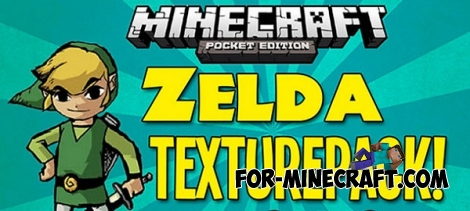 Legend of Zelda textures / shaders for Minecraft PE 0.13.0/0.13.1