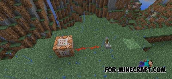 Command Blocks mod for Minecraft PE 0 14 0