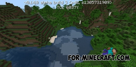 Flows HD Texture pack for Minecraft PE 1.1.X
