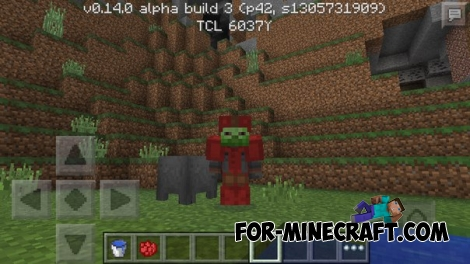 How to dye armor in Minecraft PE 0.14.0