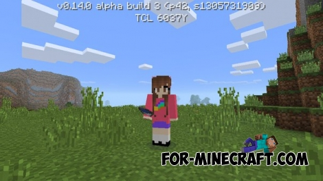 Gravity Falls skin pack for Minecraft PE 0.14.0