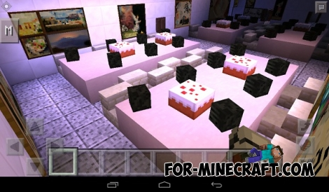 Five nights at freddy's map for Minecraft PE 0.14.0