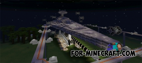 Star Wars Theme Park map for Minecraft PE 0.14.0
