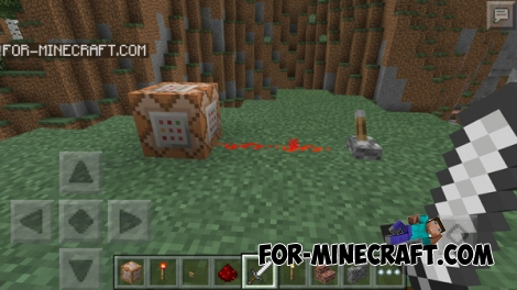 Command Blocks mod for Minecraft PE 0.14.0