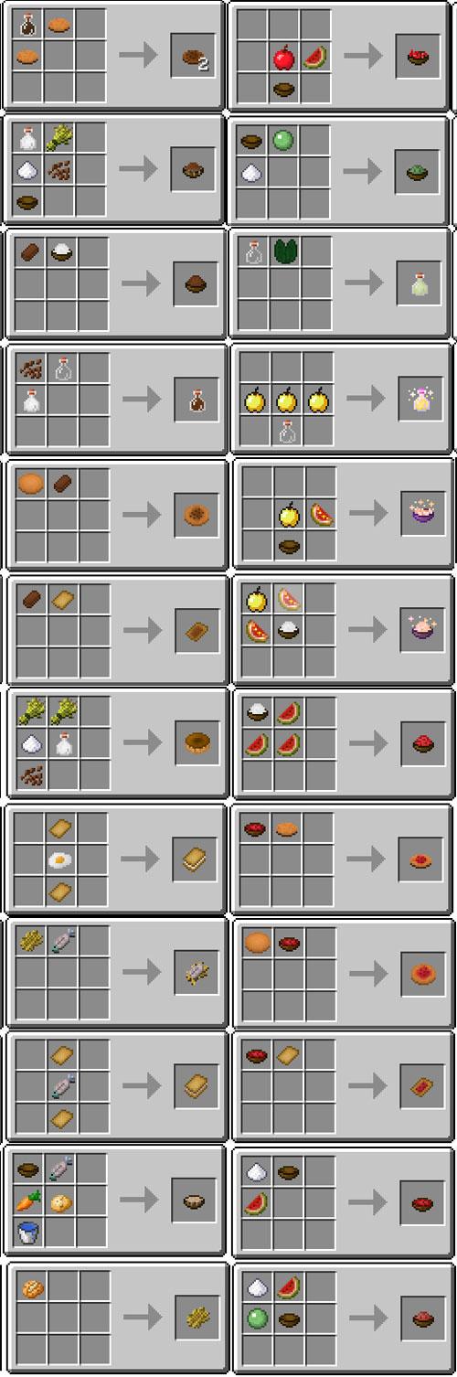 Usefull Food mod for Minecraft PE 0.14.0