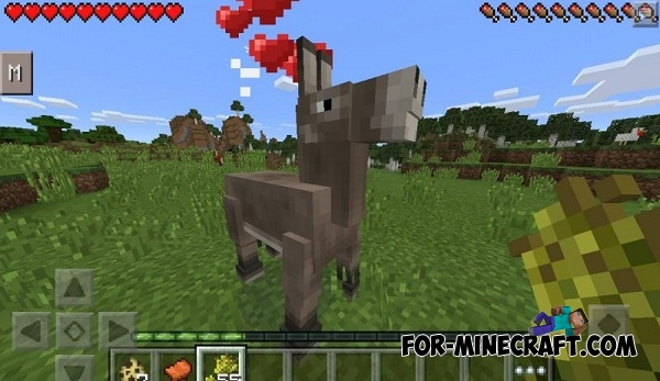 Horses mod v6 0 for Minecraft PE 0 14 0