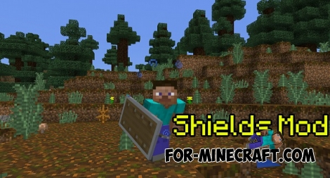 Shields mod for Minecraft PE 0.14.0/0.14.1/0.14.2