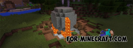 Meteors mod for Minecraft PE 0.14.0