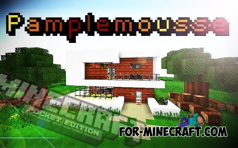 Pamplemousse PE texture for MCPE 1.2/1.6+