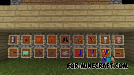 SimpleTech addon for Minecraft PE 0.14.0