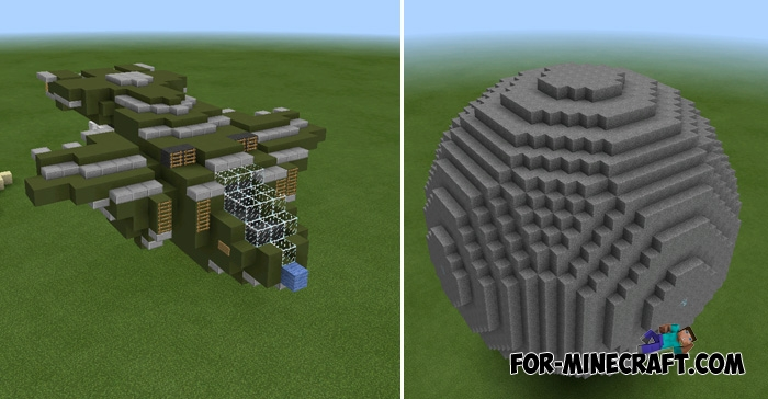 minecraft pe structures