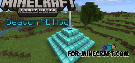 Beacon PE mod for Minecraft PE 0.14.0