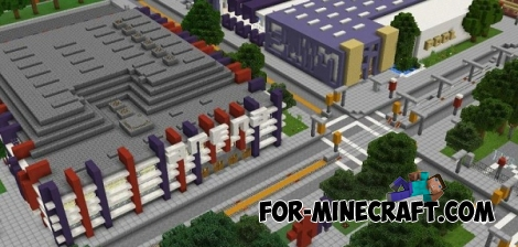 Blocks Angeles map for MCPE 0.14.0/0.14.1