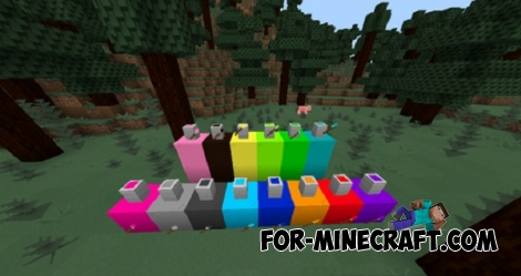 Paint mod for MCPE 0.14.0/0.14.1