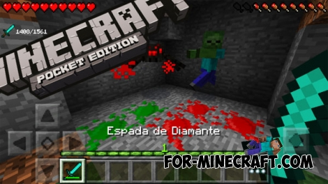 BloodPE mod for MCPE 0.14.1/0.14.0