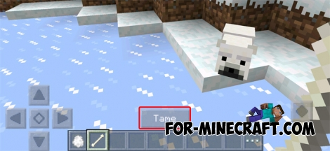 Polar Bears PE mod for MCPE 0.14.1/0.14.2