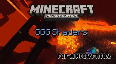 GGG Shaders for Minecraft PE 0.14.0/0.14.1/0.14.2